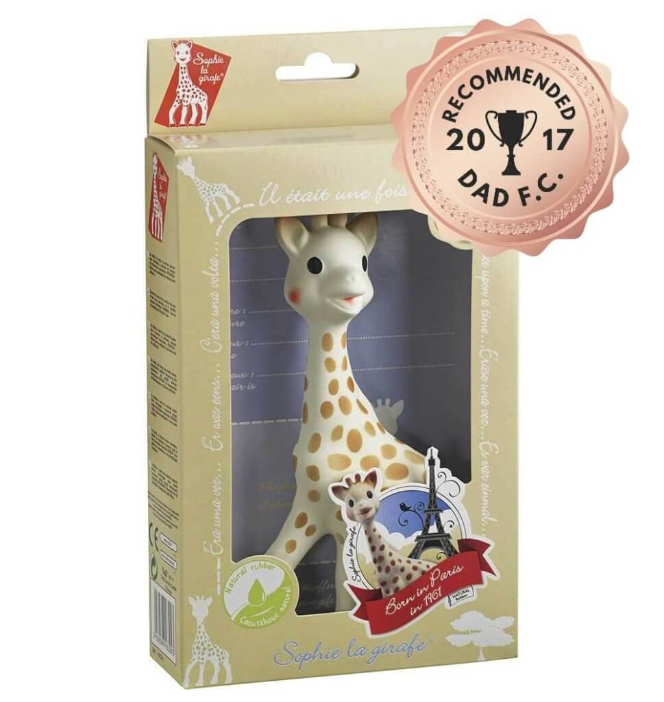 sophie the giraffe review teether