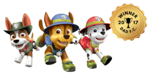 uk dads fave is paw patrol